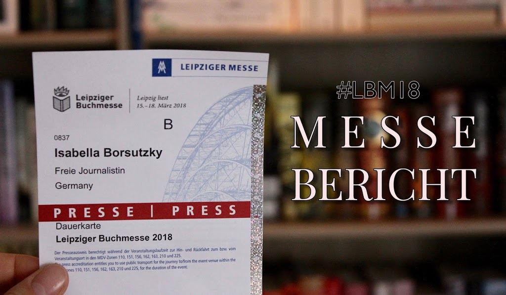 Messebericht: Die Leipziger Buchmesse 2018